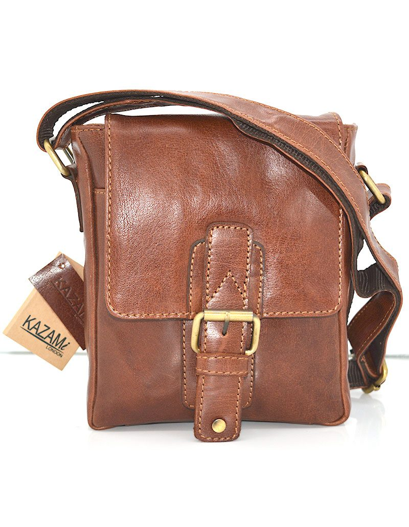 Vintage Leather Cross-body/ Messenger Bag