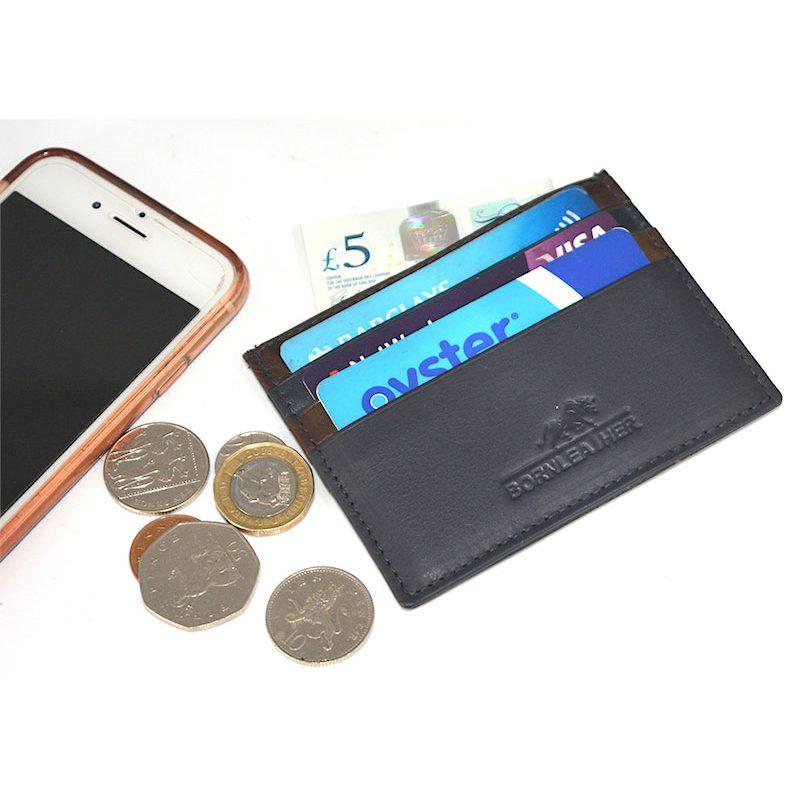 RFID Genuine Leather Wallet/Card Case